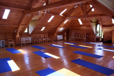 Mill Attic with Yoga mats