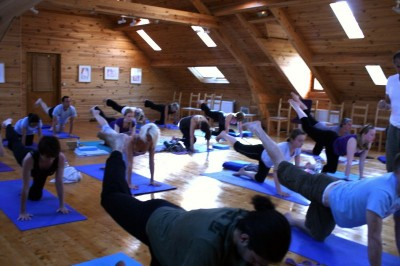 Mill Yoga group